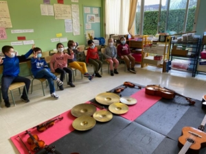 education-musicale-ce1-ecole-saint-françois-caen